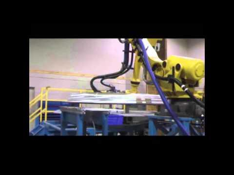 Embedded thumbnail for Robotic Polishing with Force Sensing